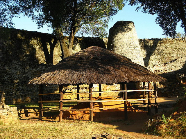 Great Zimbabwe Courtyard
