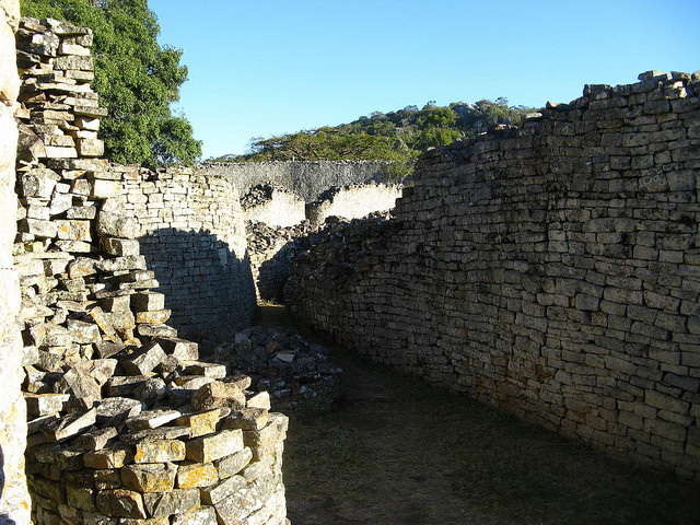 Great Zimbabwe Inside the walls