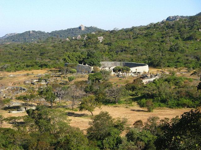 Great Zimbabwe Ruins view
