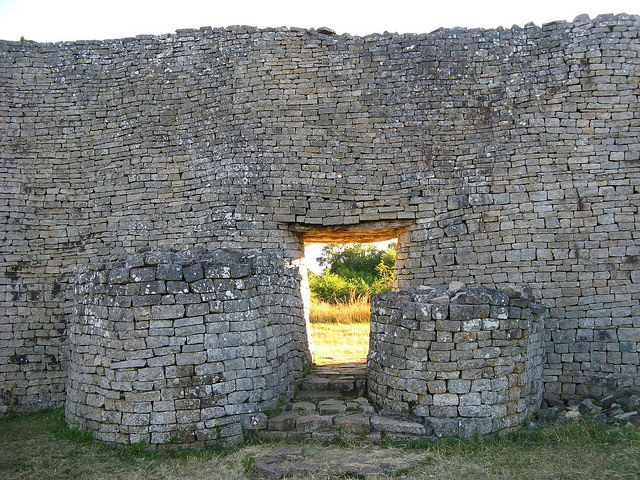 Great Zimbabwe detail